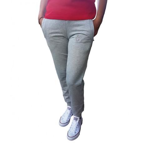 Damskie spodnie dresowe ORZEŁ szare