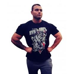 Koszulka czarna BYK NA 100 %