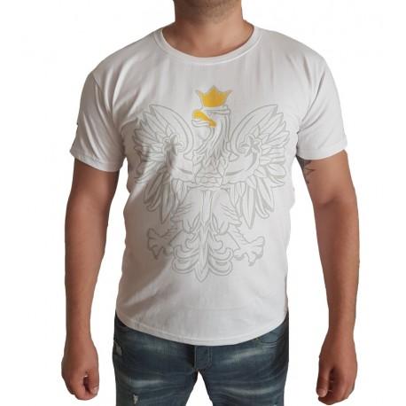 Koszulka z ORŁEM biała