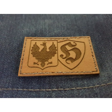 Spodenki jeansowe HOOLIGANS POLAND niebieskie