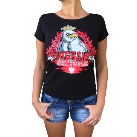 Koszulka EMIGRANCI damska