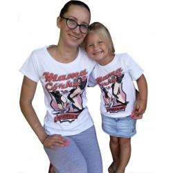 Koszulka MAMA i CÓRKA - PRZYJACIÓŁKI NA ZAWSZE