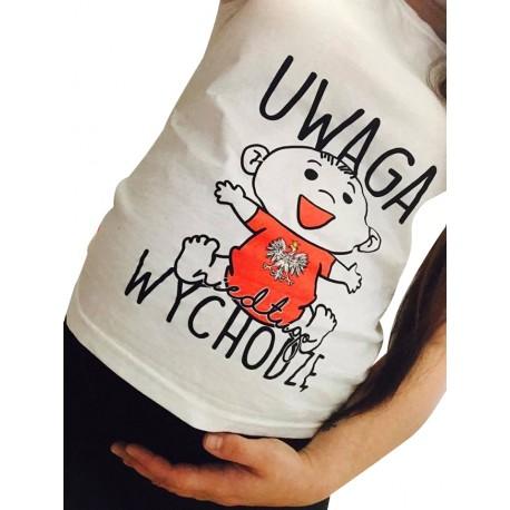 Koszulka ciążowa UWAGA NIEDŁUGO WYCHODZĘ