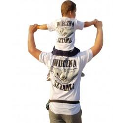 Koszulka SYN i OJCIEC - WIECZNA SZTAMA
