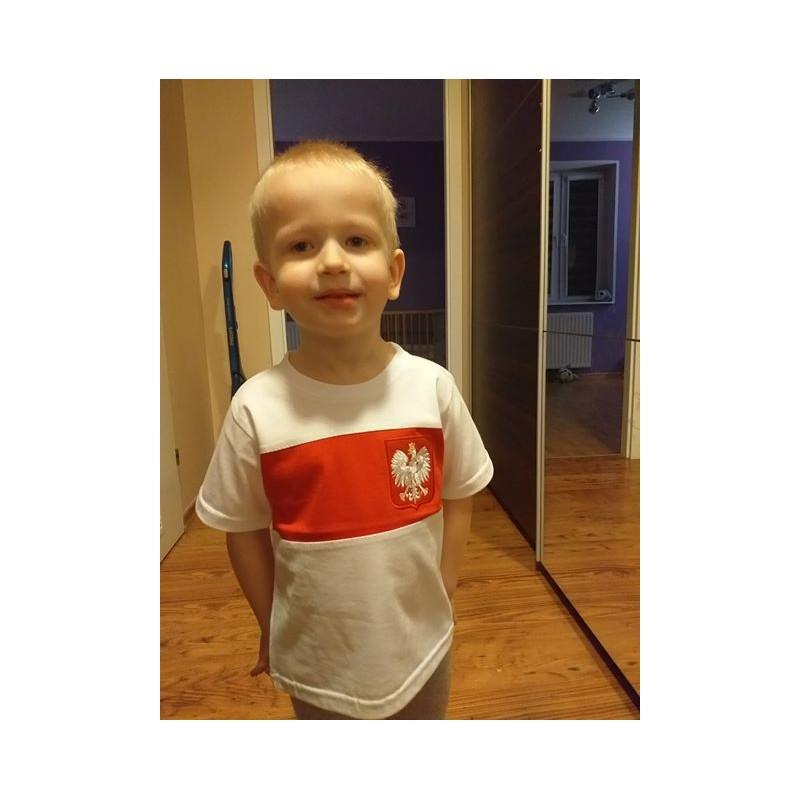 963bb5c75 koszulka patriotyczna dziecięca, Orzeł dla dzieci, odzież patriotyczna