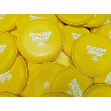 Frisbee POSZERZAMY IMPERIUM żółte