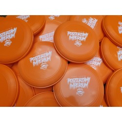 Frisbee POSZERZAMY IMPERIUM pomarańczowe