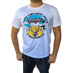Koszulka ZIMNE PIWO, CIEPŁE KRAJE