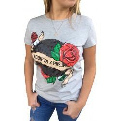 Koszulka KOBIETA Z PASJĄ