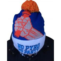 Czapka NO PYRO NO PARTY niebieska