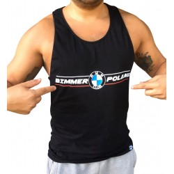 Koszulka na ramiączkach Bimmer Poland czarna