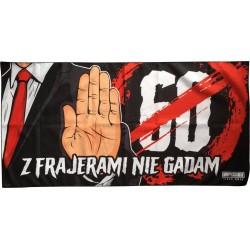 Ręcznik Z FRAJERAMI NIE GADAM (anty 60-tka) mały