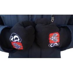 Rękawiczki HOOLIGANS POLAND czarne