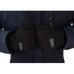 Rękawiczki patriotyczne PROUD TO BE POLISH czarne