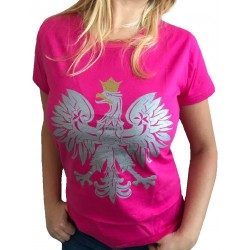 Koszulka ORZEŁ różowa