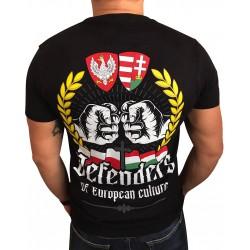 Koszulka Polak Węgier Defenders czarna