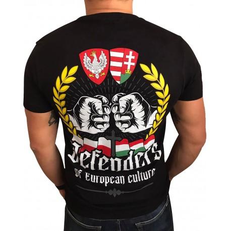 Koszulka Polak Węgier czarna