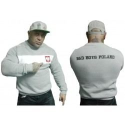Bluza bez kaptura BAD BOYS POLAND