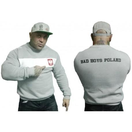 Bluza bez kaptura BAD BOYS POLAND