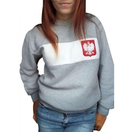 Bluza bez kaptura BAD GIRLS POLAND