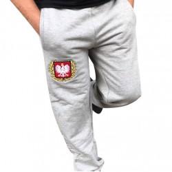 Spodnie dresowe szare POLSKA