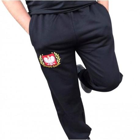 Spodnie dresowe czarne POLSKA