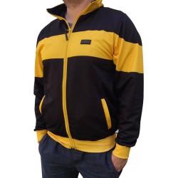 Bluza poliestrowa PROUD TO BE POLISH czarno-żółta