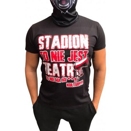 Koszulka czarna STADION TO NIE JEST TEATR