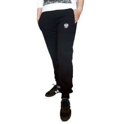 Damskie spodnie dresowe ORZEŁ czarne