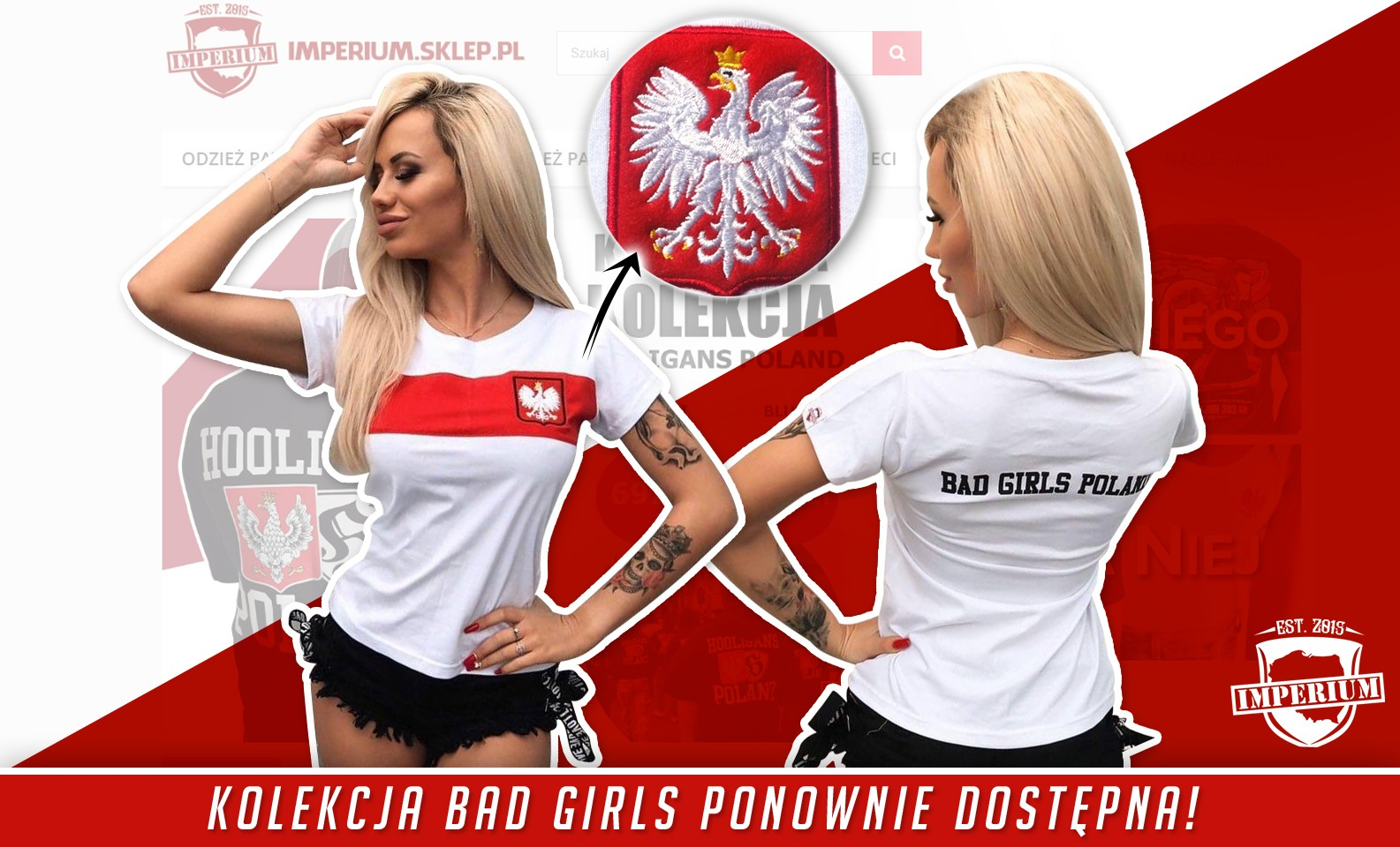 koszulka BAD GIRLS POLAND